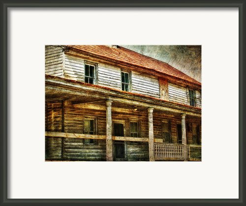 Missing A Window Framed Print By Kathy Jennings