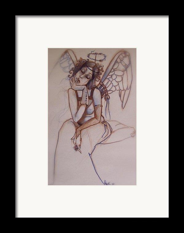 Missing Him Framed Print By Jackie Rock