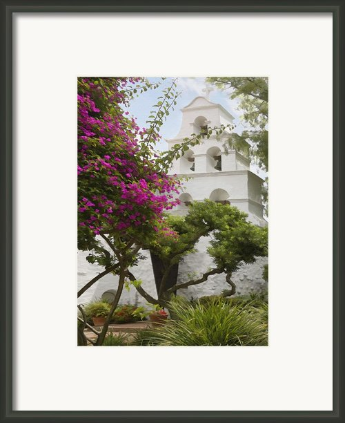 Mission Garden  Framed Print By Sharon Foster