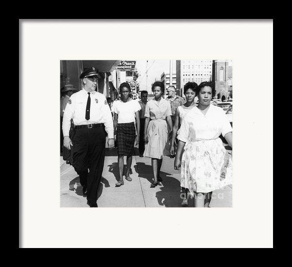 Mississippi: Sit-in, 1963 Framed Print By Granger