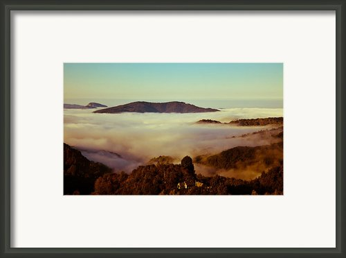 Mist Over Apuseni Framed Print By Gabriela Insuratelu