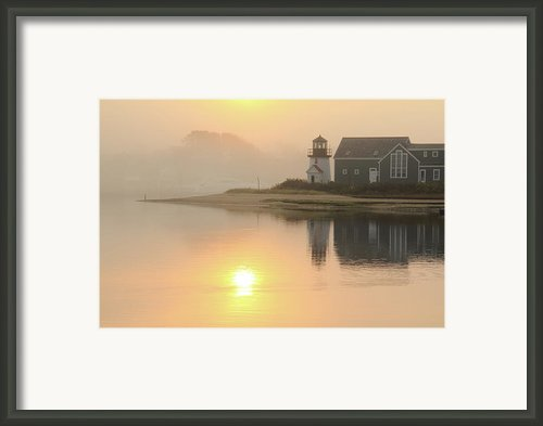 Misty Morning Framed Print By Roupen  Baker