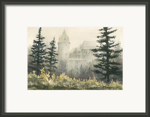 Misty Morning Framed Print By Sam Sidders