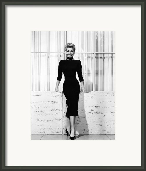 Mitzi Gaynor, Ca. 1950s Framed Print By Everett