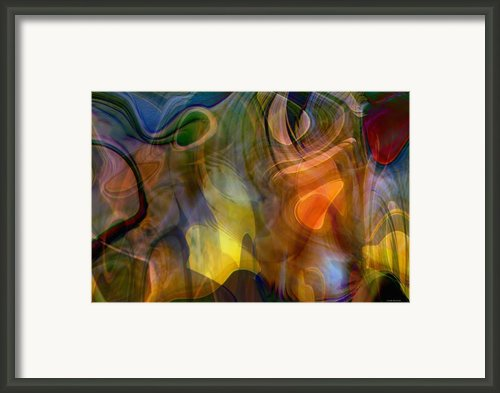 Mixed Emotions Framed Print By Linda Sannuti