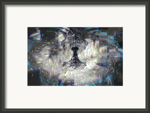 Mjollnir Framed Print By Jc Swart
