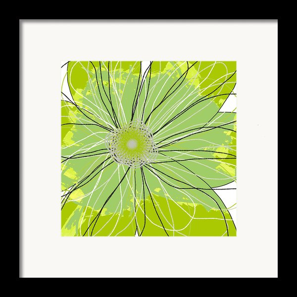 Moda Flower Mix I  Framed Print By Ricki Mountain