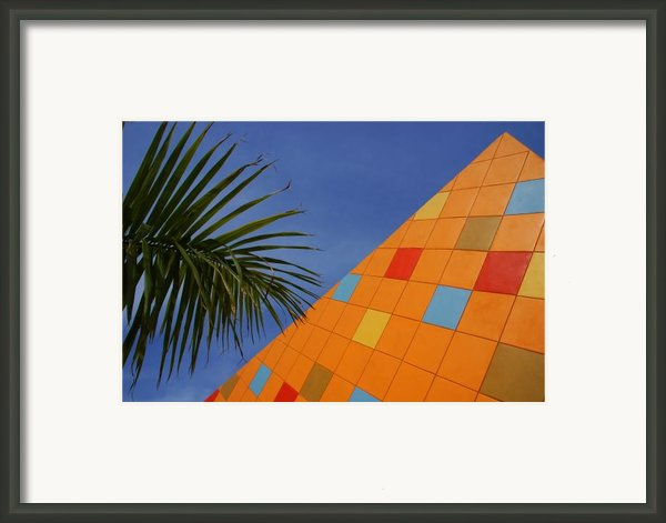 Modern Architecture Framed Print By Susanne Van Hulst