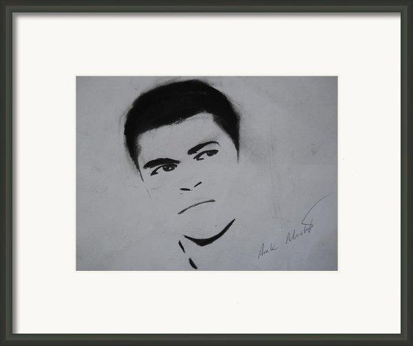 Mohammed Ali Framed Print By Ahmed Mustafa