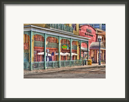 Mojo On Church Street Framed Print By Andrew Armstrong  -  Orange Room Images