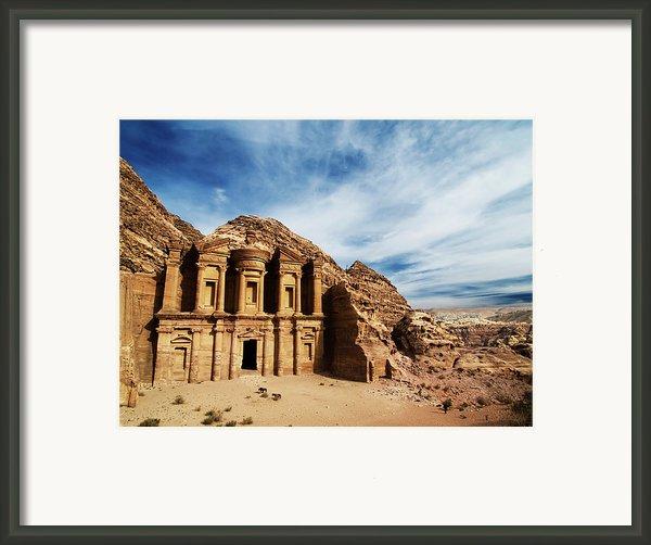 Monastery Framed Print By Julian Kaesler