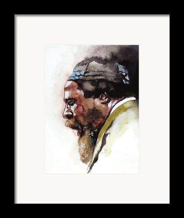 Monk Framed Print By Bryan Dechter
