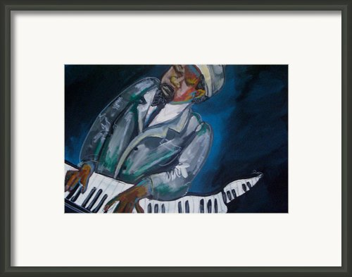 Monk Framed Print By Janie Mcgee