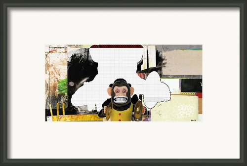 Monkey See Monkey Do Framed Print By Michel  Keck