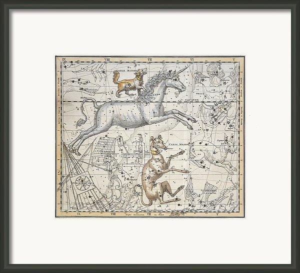 Monoceros Framed Print By A Jamieson