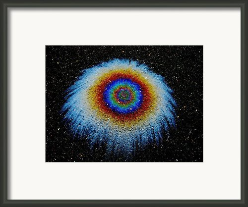 Monocular Vision Framed Print By Samuel Sheats