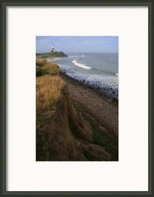 Montauk Surf And Turf Framed Print By Christopher Kirby