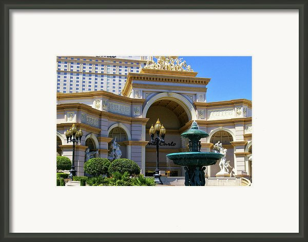 Monte Carlo Casino Resort Framed Print By Mariola Bitner