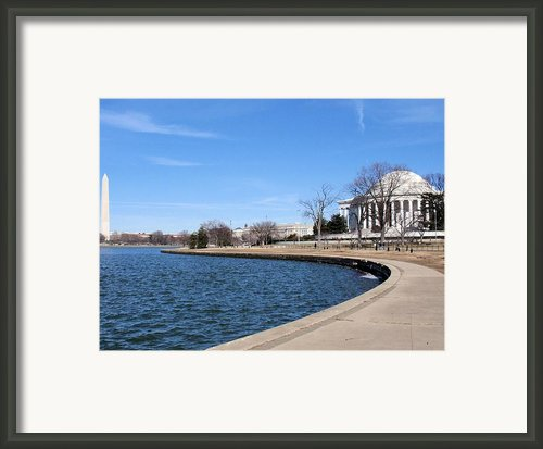 Monumental View Framed Print By