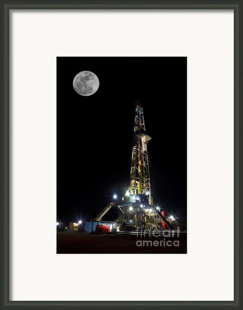 Moon Over Latshaw 10 Framed Print By Jonas Wingfield