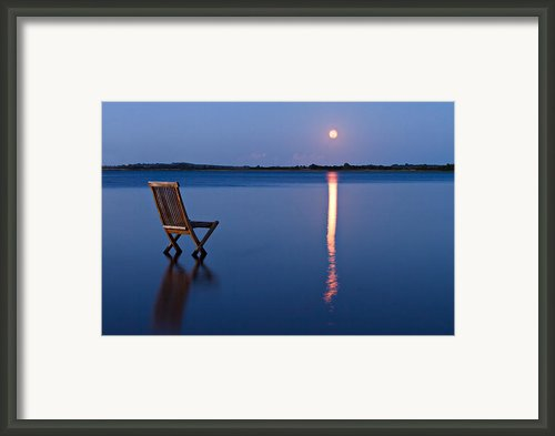 Moon View Framed Print By Gert Lavsen