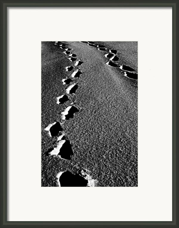 Moon Walk Framed Print By Jerry Cordeiro