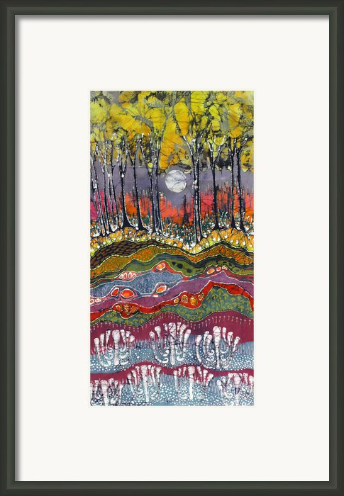 Moonlight Over Spring Framed Print By Carol  Law Conklin