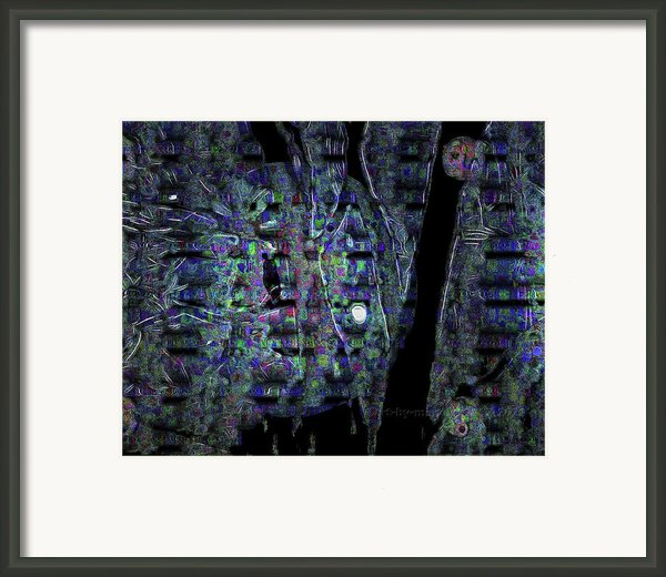 Moonlight Shadow Framed Print By Mimulux Patricia No