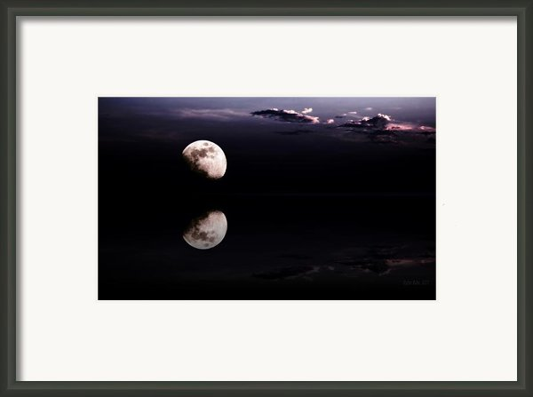 Moonlight Shadow Framed Print By Stefan Kuhn