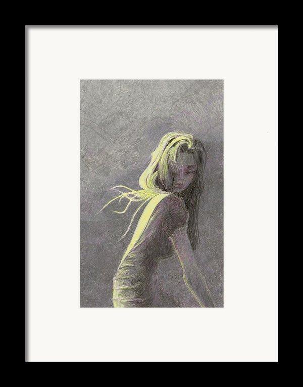 Moonlight Framed Print By Steve Asbell