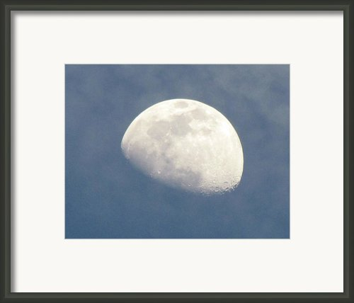 Moonrise Framed Print By Helaine Cummins
