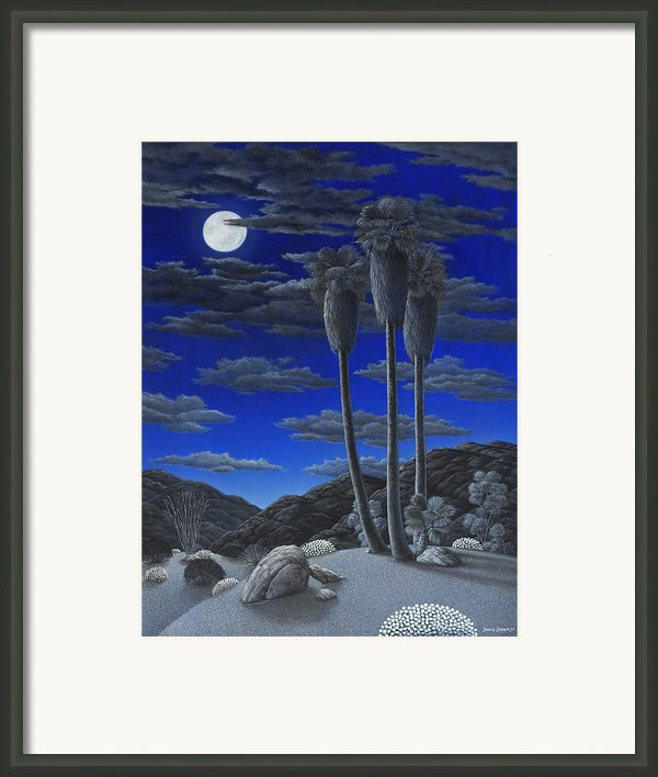 Moonrise Framed Print By Snake Jagger