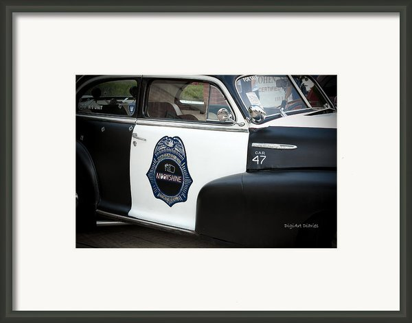 Moonshine Patrol Framed Print By Digiart Diaries By Vicky B Fuller