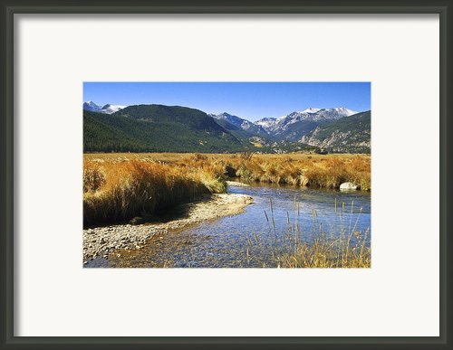 Morain Park Colorado Framed Print By James Steele