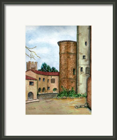Morcone  Framed Print By Pamela Allegretto