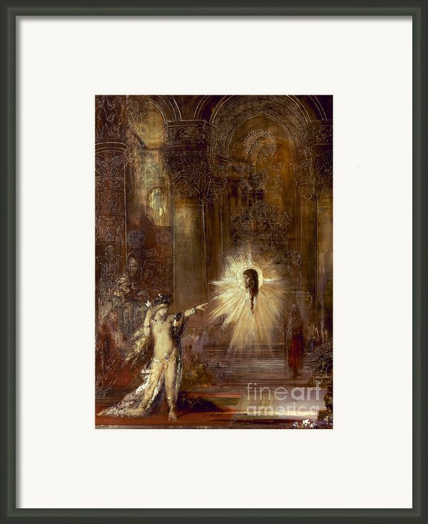 Moreau: Apparition, 1876 Framed Print By Granger