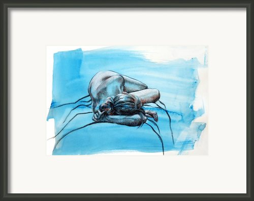Morning Blues Framed Print By Peggi Habets
