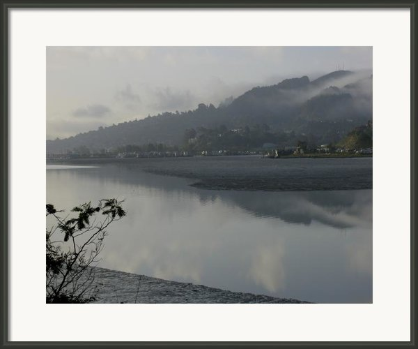 Morning Fog Framed Print By Vari Buendia
