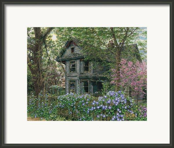 Morning Glory Framed Print By Doug Kreuger