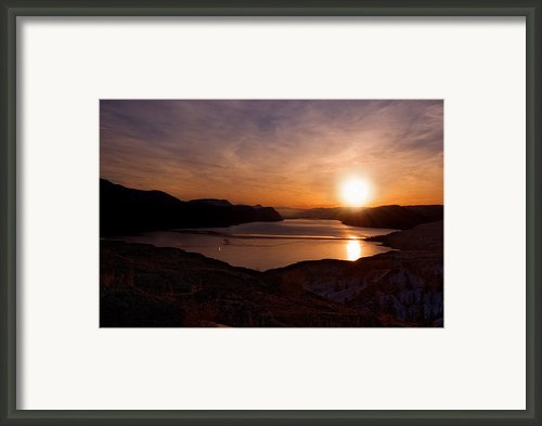 Morning Glory Framed Print By Peter Olsen