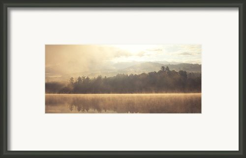 Morning Light Over The Mountains Framed Print By Stephanie Mcdowell