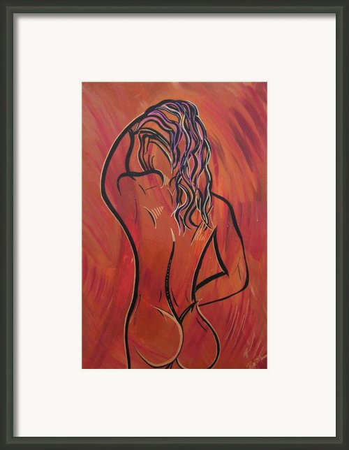 Morning Shower Framed Print By Bill Manson