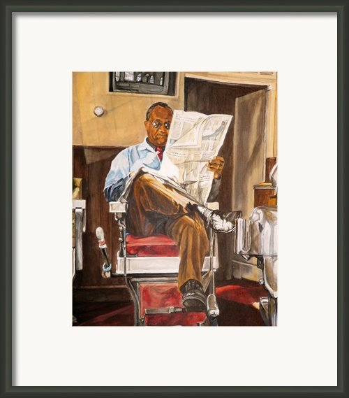 Morning Slump Framed Print By Thomas Akers