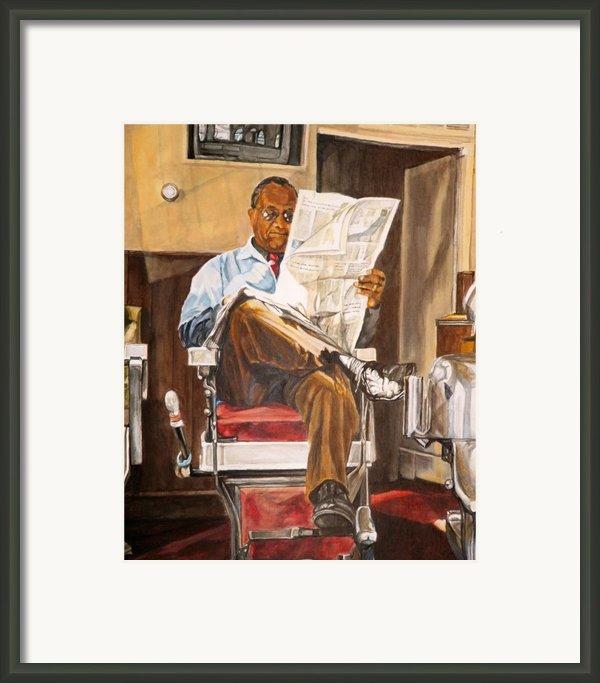 Morning Slump Framed Print By Thomas Akers