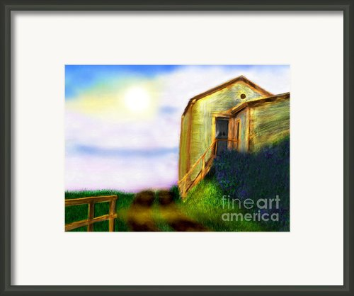Morning Sunshine Framed Print By Lj Lambert