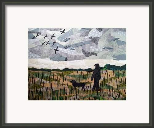 Morning Walk Framed Print By Charlene White
