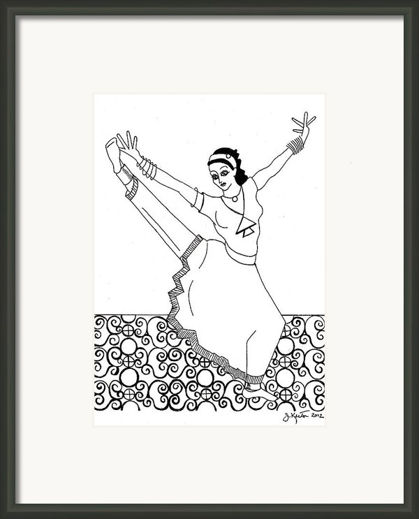 Moroccan Dancer Framed Print By John Keaton