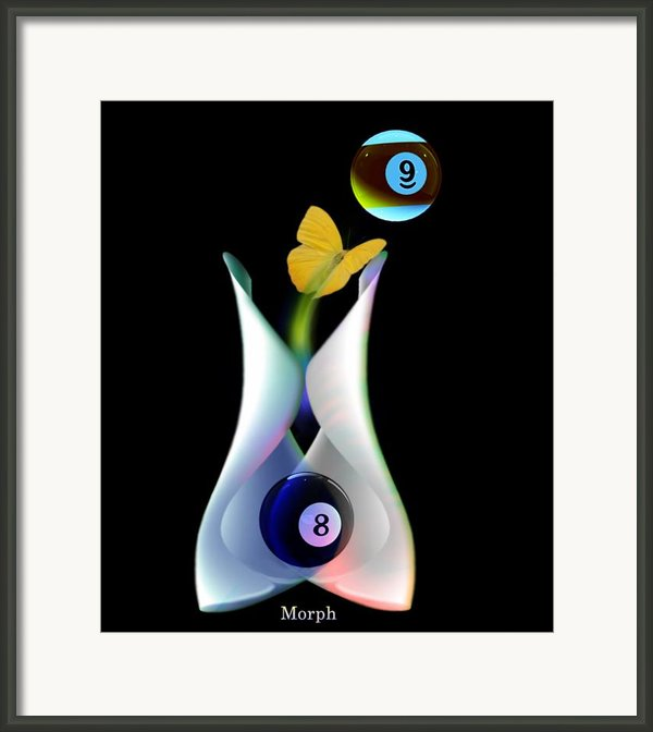 Morph Framed Print By Draw Shots