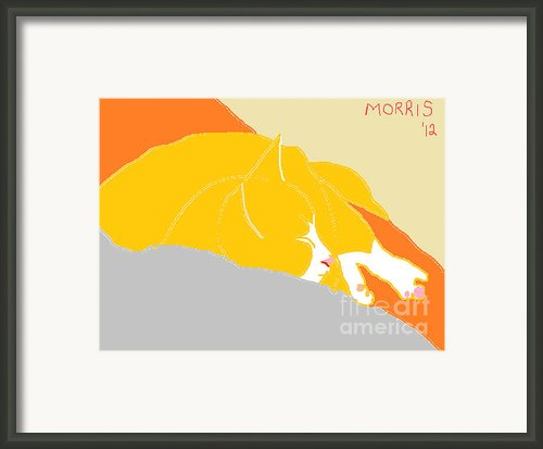 Morris Framed Print By Anita Dale Livaditis