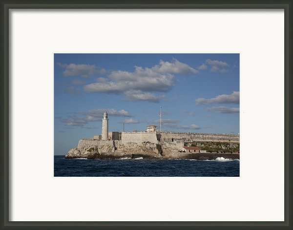 Morro Castle Havana Cuba Was Built Framed Print By Everett
